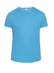 Orlebar Brown Ob T Cotton T Shirt Blue