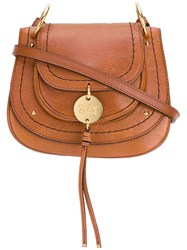 See By Chloe Saddle Crossbody Bag Brown