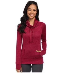 Kuhl L A Pullover Sangria Women's Long Sleeve Pullover Red