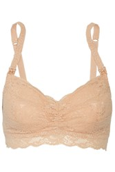 Cosabella Never Say Never Mommie Stretch Lace Nursing Bra Neutral