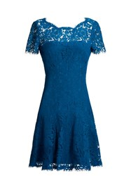 Diane Von Furstenberg Fifi Dress Blue