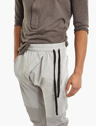 Thom Krom Grey Asymmetric Sweatpants