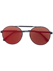 Vera Wang Concept 91 Sunglasses Plastic Stainless Steel Red