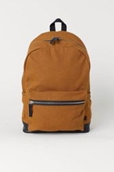 Handm H M Backpack With Laptop Sleeve Yellow