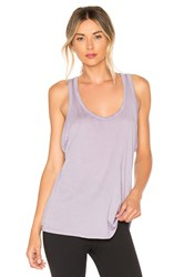 Beyond Yoga All About It Racerback Tank Purple