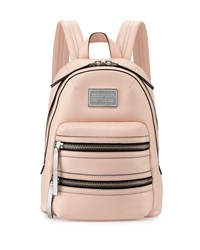 Domo Biker Leather Backpack Pearl Blush Marc By Marc Jacobs
