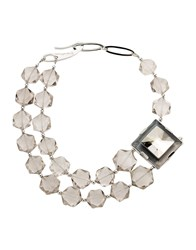 Giorgio Armani Jewellery Necklaces Women Transparent