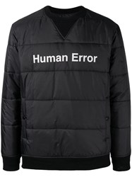 Undercover Pull Over Padded Jacket Black