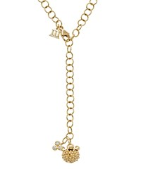Temple St. Clair 18K Yellow Gold Mini Pod Charm Necklace With Diamond 24 White Gold