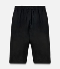 Christopher Kane Technical Elasticated Waist Shorts Black