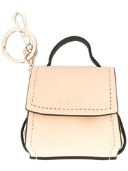 Dkny Mini Flap Shoulder Bag Charm Nude Neutrals