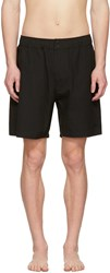 Saturdays Surf Nyc Black Trent Swim Shorts