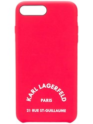 Karl Lagerfeld K Athleisure Iphone 8 Case Red