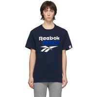 Nanamica Navy Reebok Edition Vector T Shirt