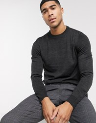 Rudie Crew Neck Jumper Grey