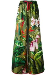 F.R.S For Restless Sleepers Tropical Print Palazzo Pants