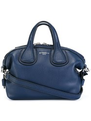 Givenchy Micro 'Nightingale' Tote Blue