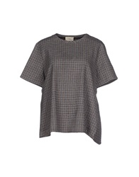 Boy By Band Of Outsiders Blouses Dark Brown