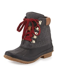 Delyth Felt Weather Boot Charcoal Joie
