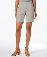 Jag Ainsley Twill Pull On Shorts Stone