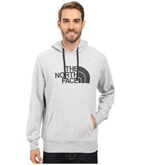 The North Face Half Dome Hoodie Tnf Light Grey Heather Asphalt Grey Men's Long Sleeve Pullover Gray