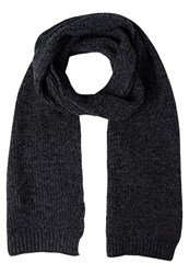 Superdry Downtown Scarf Charcoal Twist Mottled Dark Grey
