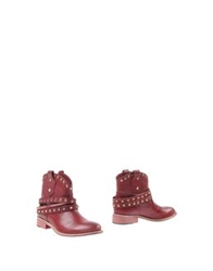 Patrizia Pepe Ankle Boots Brown