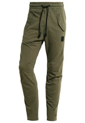 Religion Ramm Tracksuit Bottoms Army Green Oliv