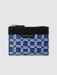 Maison Kitsune All Over Rectangle Small Pouch