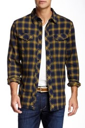 Micros Pretender Flannel Plaid Shirt Blue