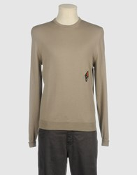 Bafy Knitwear Crewnecks Men Dove Grey