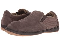 Tempur Pedic Jadin Charcoal Men's Slippers Gray