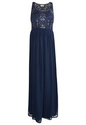 Lace And Beads Kelly Occasion Wear Navy Dark Blue