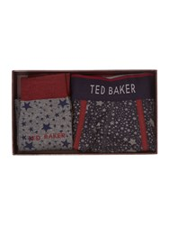 Ted Baker Patterned Brief Red