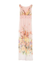 Sonia Fortuna Long Dresses Pink