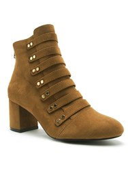 Qupid Melba Ankle Boot Moss