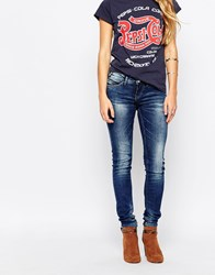Blend She Perfect Shape Fay Jeans Darkblue