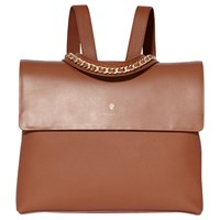 Modalu Olivia Leather Backpack Tan