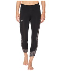 Pearl Izumi Escape 3 4 Tights Print Black Smoked Phyllite Women's Casual Pants
