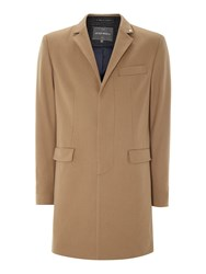 Peter Werth Melton Cropley Topcoat Camel