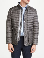Bugatti Sportive Quilted Jacket Grey