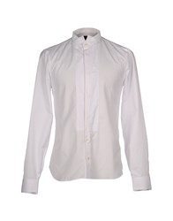Gazzarrini Shirts White