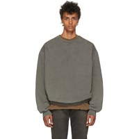 Yeezy Grey Crewneck Sweatshirt