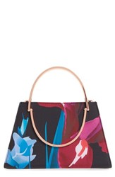 Ted Baker London 'Stenciled Stem' Floral Print Crossbody Bag