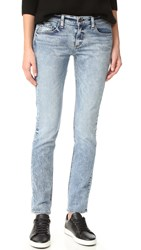 Rag And Bone The Dre Slim Boyfriend Jeans Acid Blue