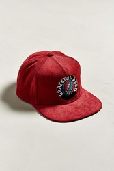 Urban Outfitters The Grateful Dead Corduroy Snapback Hat Red