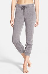 Junior Women's Bp. 'Skinny Mini' Sweatpants Grey Shale