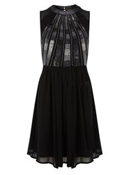 Dorothy Perkins Sequin Prom Dress Metallic