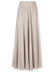 Jacques Vert Layered Maxi Skirt Mid Neutral