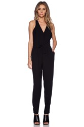 Sam Edelman Cross Back Jumpsuit Black